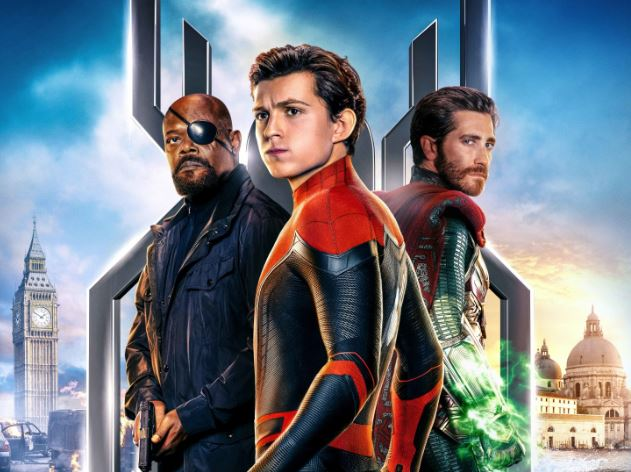 spider man nick fury y mysterio