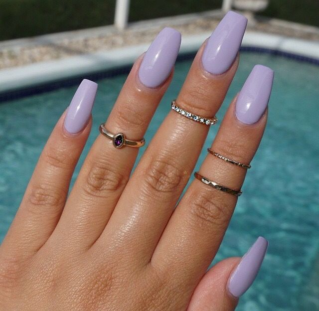 Best 25+ Lavender nails ideas on Pinterest | Wedding nails, Wedding nail  colors and Dark nail designs - Best 25+ Lavender Nails Ideas On Pinterest Wedding Nails