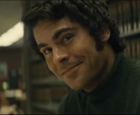zac efron como ted bundy en extremely wicked shockingly evil and vile