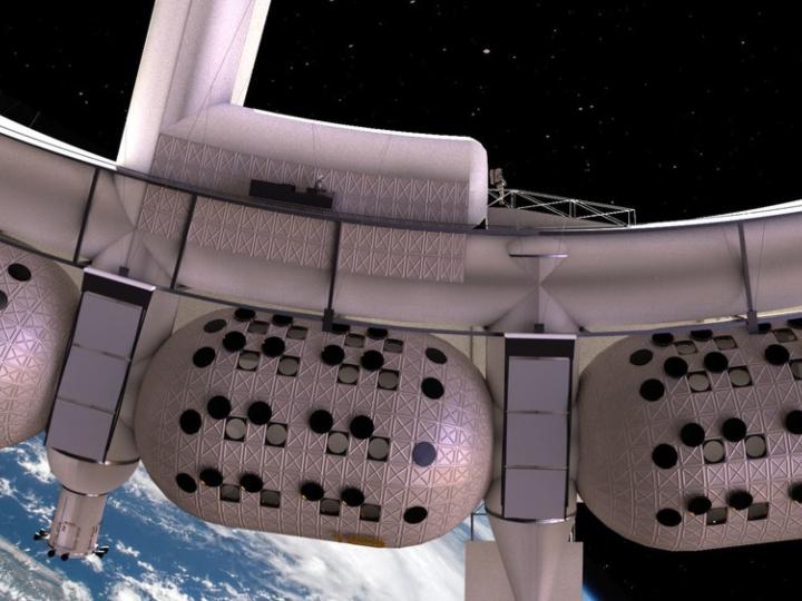 Cápsula espacial (render)