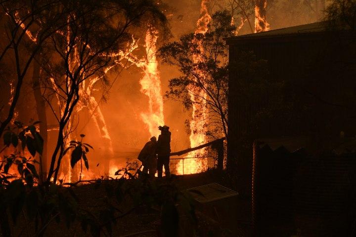 Foto de los incendios forestales en Australia