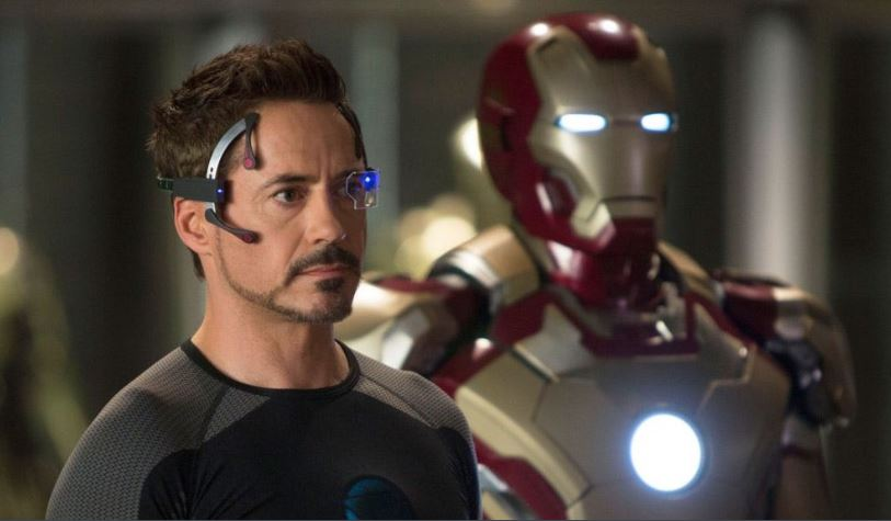 robert downey jr como iron man
