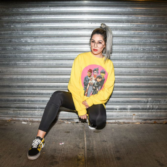 Jessica Audifredd con DJ Mija