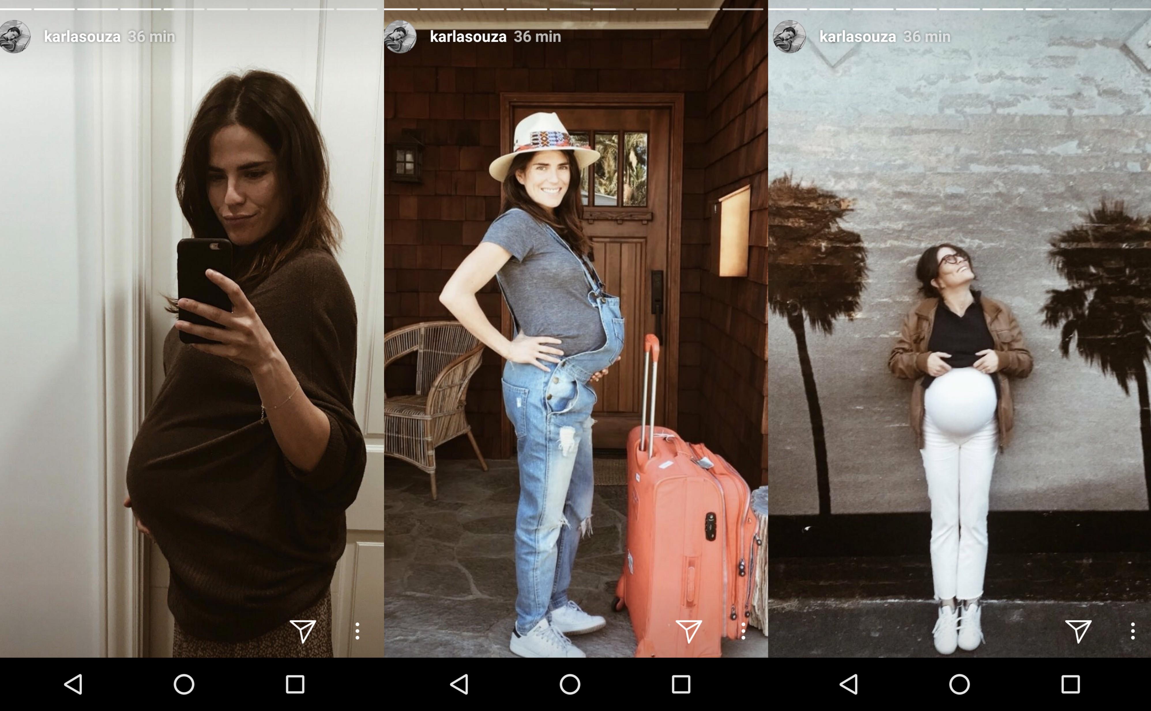 FOTOS: Karla Souza se convierte en mamá