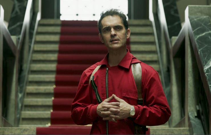 Pedro Alonso como Berlín en La casa de papel