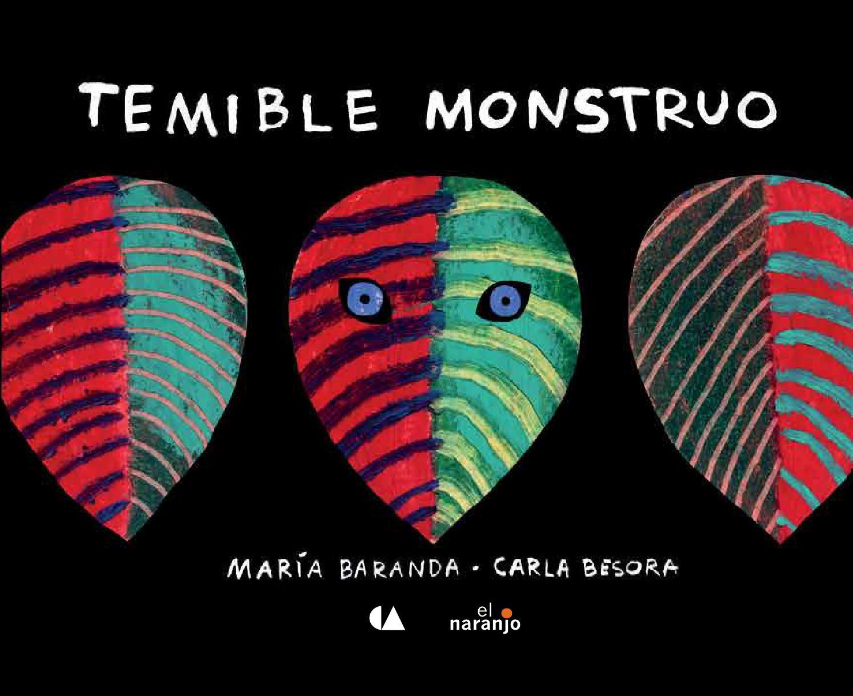 Portada de Temible monstruo de María Baranda y Carla Besora
