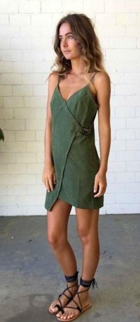 Cómo Combinar Tu Vestido Verde Para Dar El Grito Y Conseguir