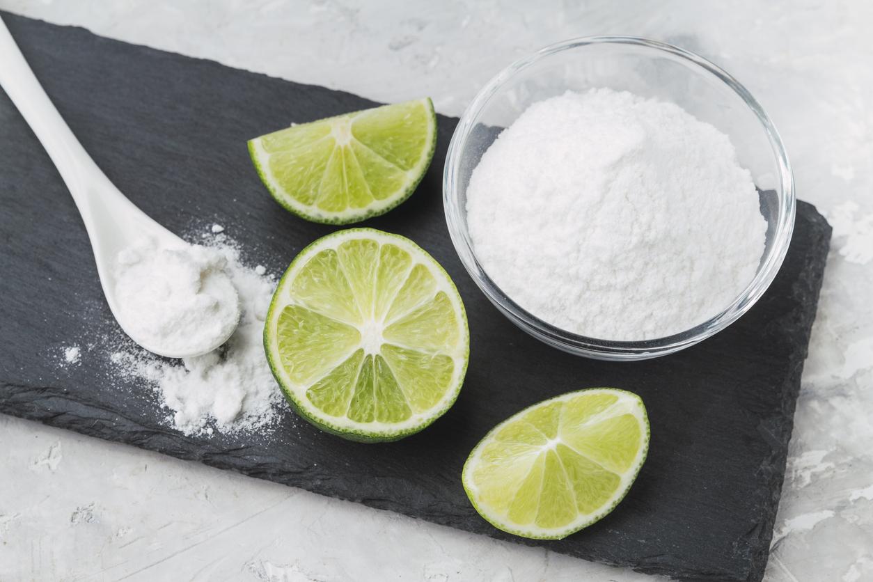 Para que sirve el agua de limon con bicarbonato de sodio