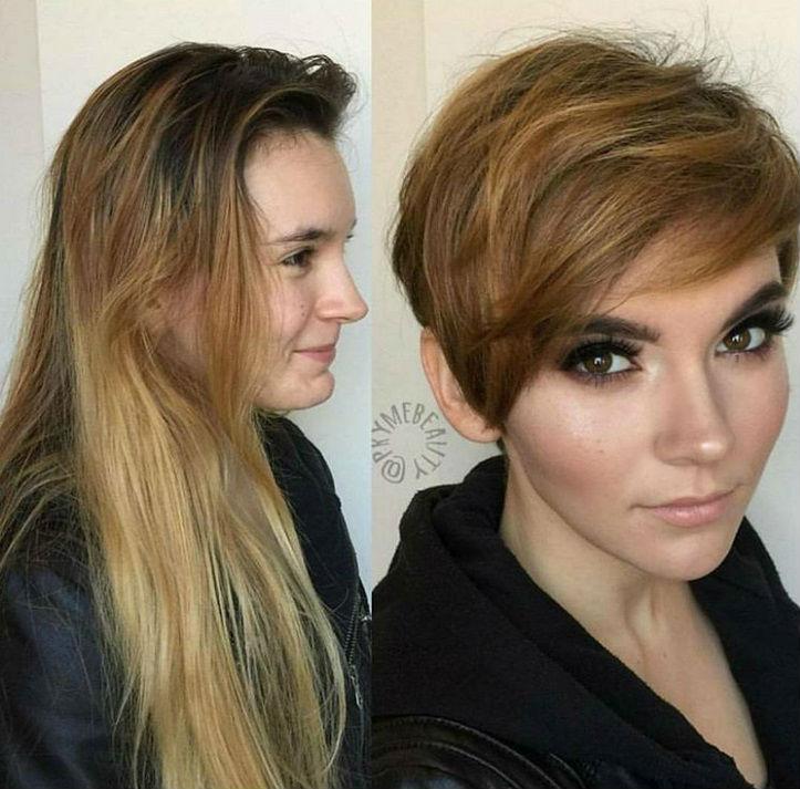 Cortes de cabello antes y ahora