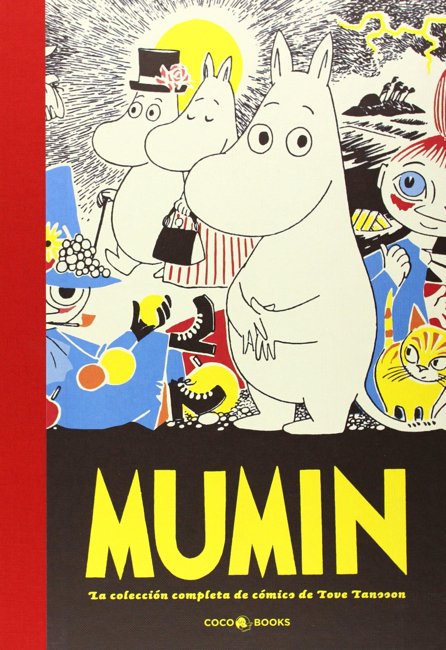 Portada de Mumin. La colección completa de cómics de Tove Jansson