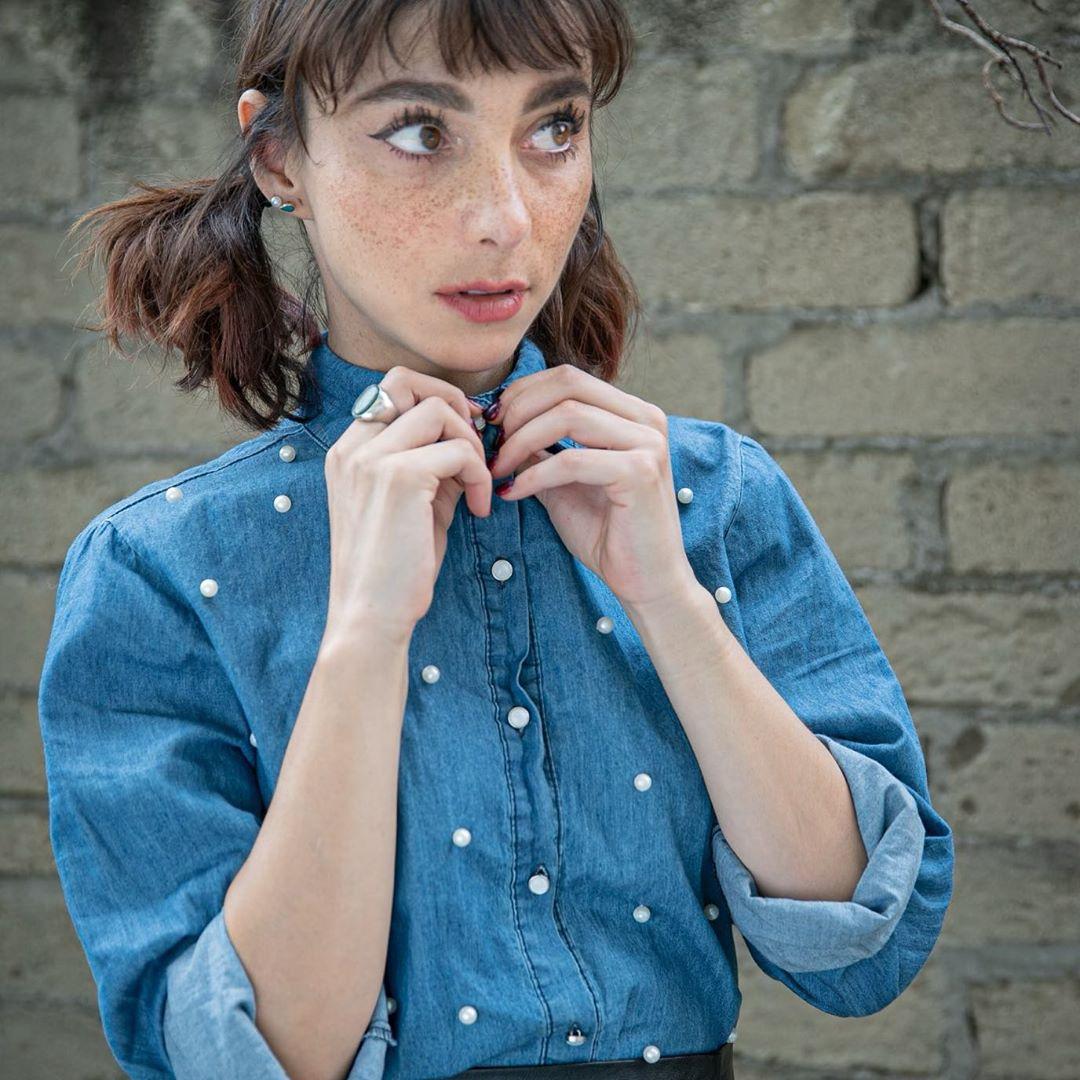 La conductora Natalia Tellez
