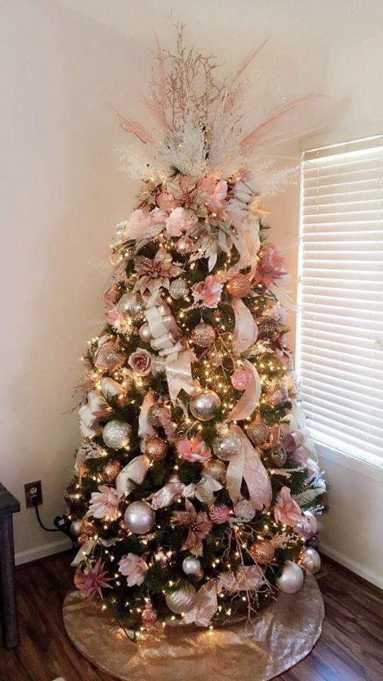 Decoraci n rbol de navidad 2018 tendencias y consejos for Adornos navidenos ultimas tendencias
