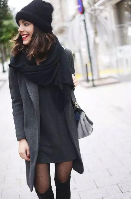 Vestidos a invierno