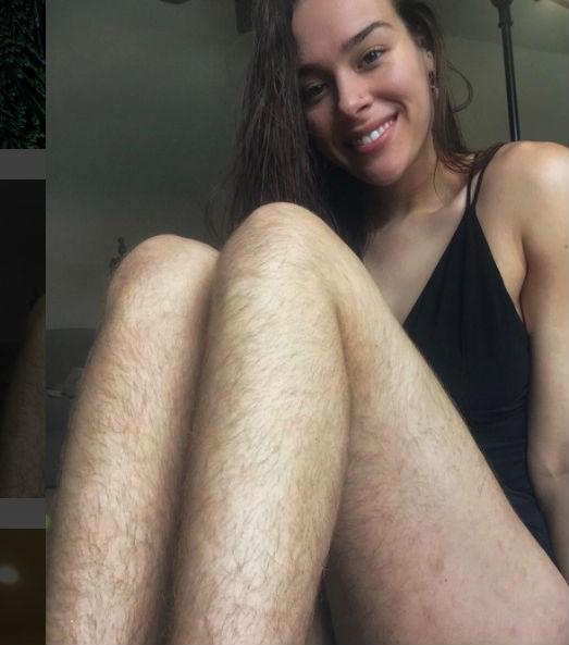 Morgan Mikenas, la bloguera fitness que lleva un año sin depilarse (FOTOS)