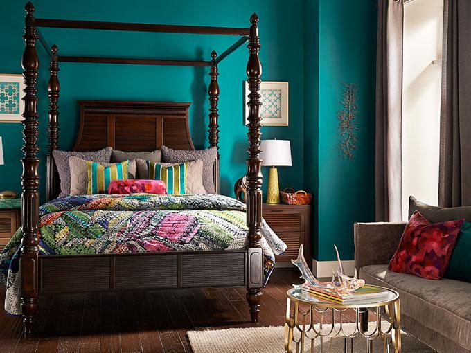 Tendencia de colores para decoraci n de interiores 2015 for Pintura de interiores modernos