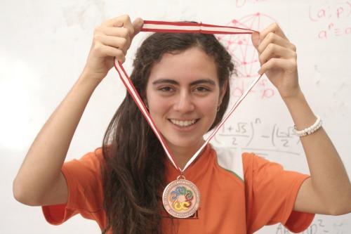Olga planea estudiar Matemáticas en el Instituto Tecnológico de Massachussets (MIT)