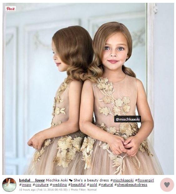 Peinados para las pajecitas actitudfem - Peinados elegantes para una boda ...