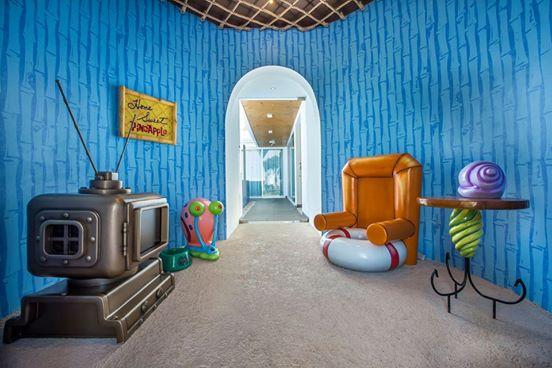 Casa de pi a bob esponja actitudfem for Casa de los azulejos por dentro