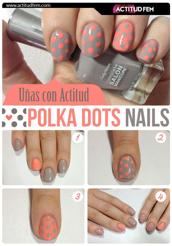 Manicure Polka Dots [FOTOS] | ActitudFem