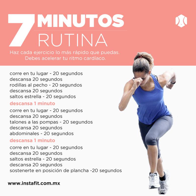 Circuito Hiit En Casa : Rutina de ejercicio en minutos actitudfem