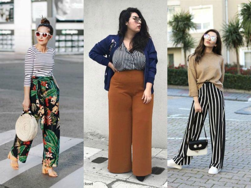 7 Formas Sencillas De Usar Pantalones Anchos Actitudfem