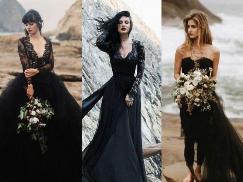 Vestidos De Novia Color Negro Actitudfem