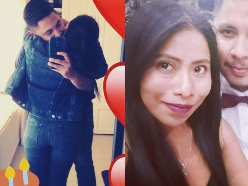 Novio de Yalitza Aparicio André Montes Fuentes llena su Instagram ...