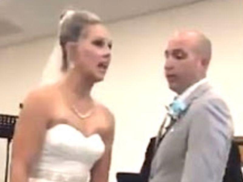 'No tiene fallas': suegra interrumpe la boda de su hijo y no deja que intercambien sus votos