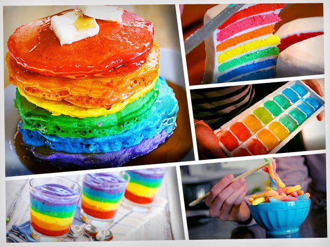 Como hacer pasteles de colores   ActitudFem
