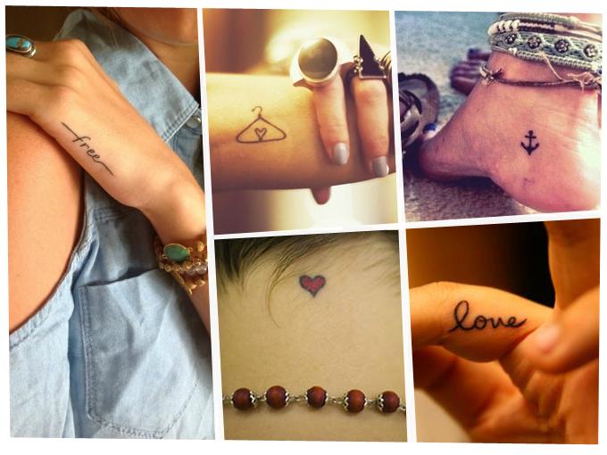 tatuajes pequenos y discretos