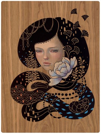 Cocoon por Audrey Kawasaki.