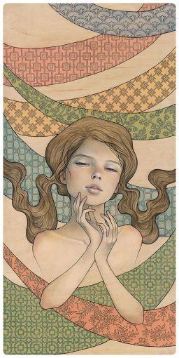 Day Dream por Audrey Kawasaki.