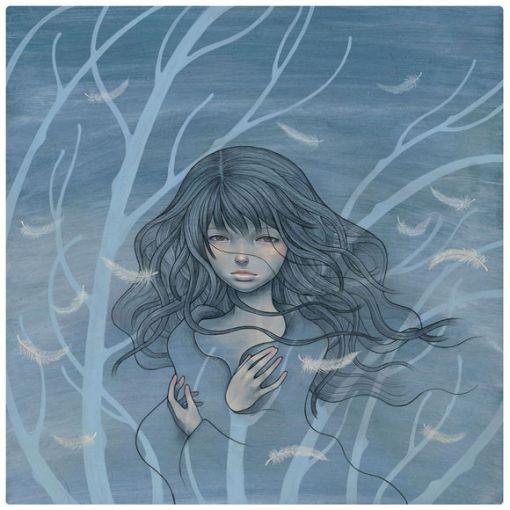 She Wind por Audrey Kawasaki.