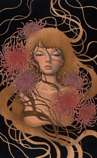 Things Unsaid por Audrey Kawasaki.