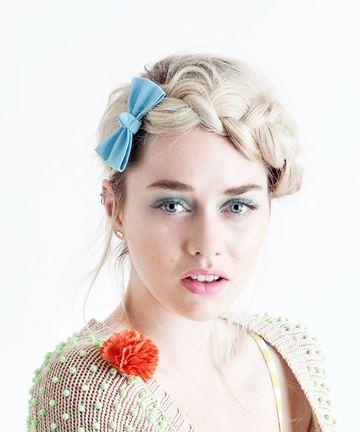 beautiful trendy peinado crown braid o trenza alrededor de la cabeza tipo de moo with moos con trenzas with trenzas con moo - Moos Con Trenzas