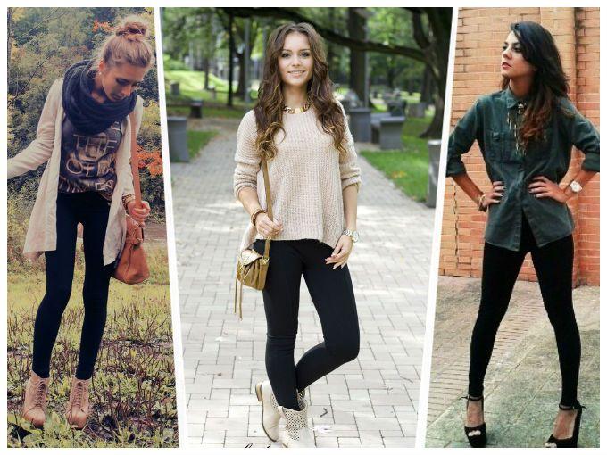 como combinar leggins para otoño | ActitudFem