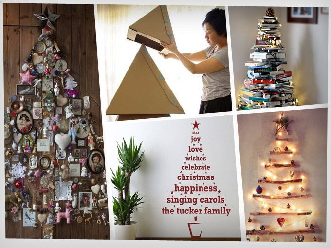 Pinos diferentes y creativos soyactitud - Arboles de navidad creativos ...