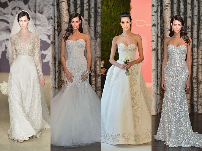 vestidos de novia kim kardashian