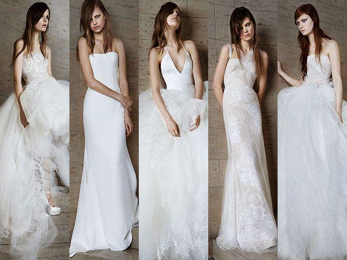 Vestidos de novia de Vera Wang para Primavera-verano 2015 | ActitudFem