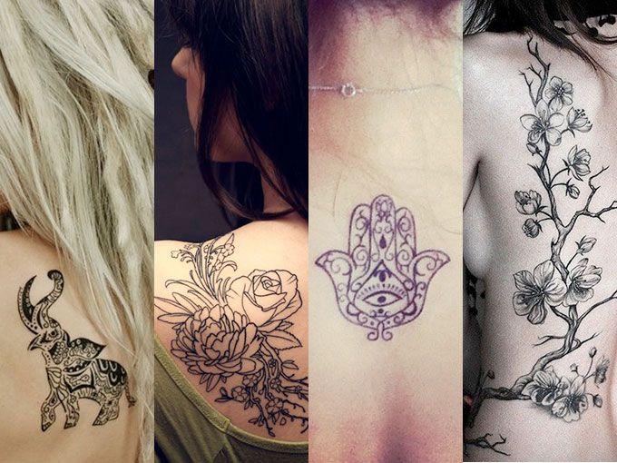 Tatuajes para la espalda en mujeres FOTOS ActitudFem