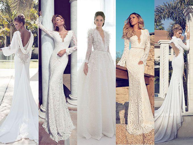 Vestidos de novia con manga larga [FOTOS] | ActitudFem