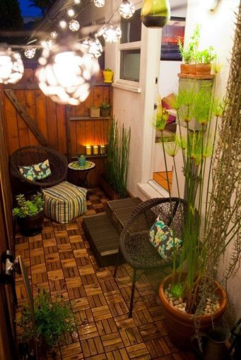 Ideas para decorar patios peque os soyactitud for Patio con lavadero