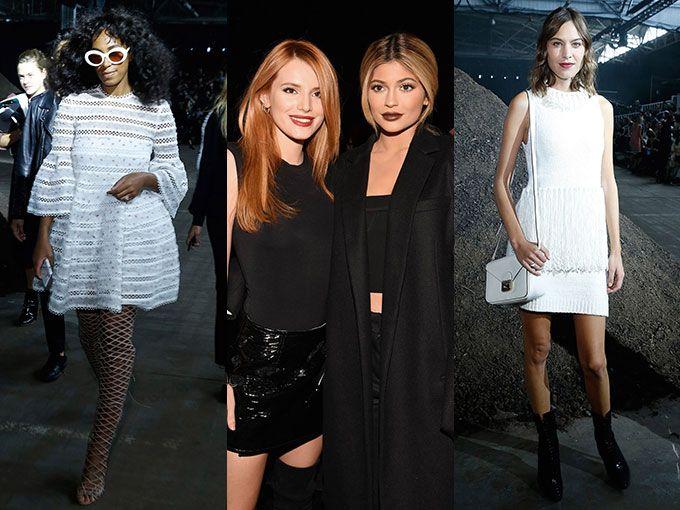 Famosos en la semana de la moda de nueva york primavera verano 2016 ...
