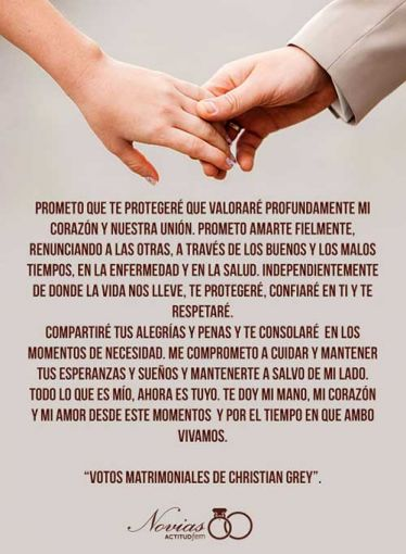 Votos De Matrimonio Catolico : Votos matrimoniales creativos soyactitud