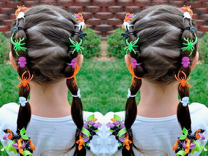 Ideas para peinar a tus niñas este Halloween | ActitudFem