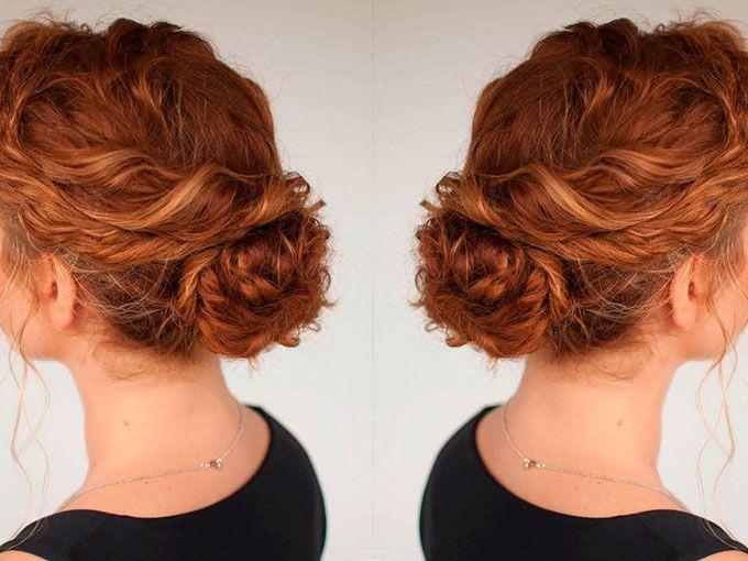 Peinados recogidos despeinados ondas tanto en recogidos for Recogido bob