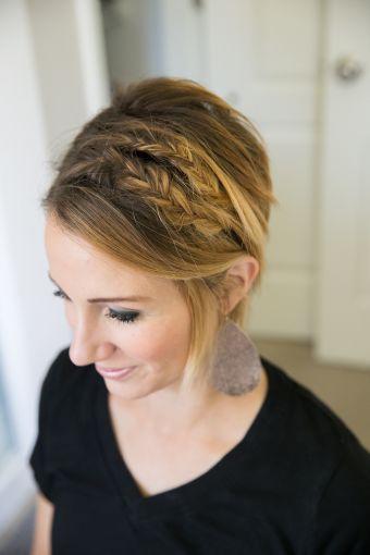 trenzas para cabello corto soyactitud
