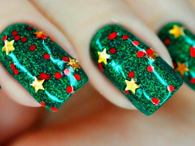 Ideas de uñas para Navidad | ActitudFem