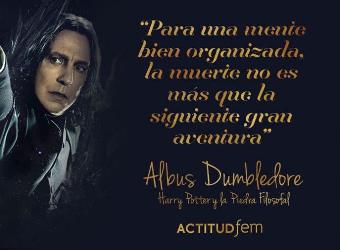 Frases De Harry Potter Sobre La Muerte Actitudfem
