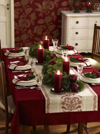 Formas de decorar tu mesa navidea ActitudFem